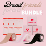 15% off All Boob Tape Bundles + Free Express Shipping @ Boobyful Aid