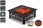 Cookmaster 3-in-1 Outdoor Fire Pit Grill $69.99+ Delivery ($0 with Kogan First) @ Kogan