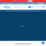 15% off Site Wide + Free Delivery with $150 Spend @ Lighting Superstore