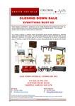 Furniture Liquidation from Receivers (Sydney)