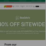 40% off Storewide + Free Shipping over $75 @ Bosistos