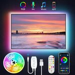 JESLED 3m USB Bluetooth TV Backlights With IR remote $12.99 + Delivery ($0 with Prime/ $39 Spend) @ JESLED via Amazon AU