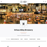 25% off Any 2 Cases of Urban Alley Selected Beers + Delivery (Excludes NT) @ Only Craft Beer