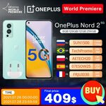 """OnePlus Nord 2 5G 6.43"""" AMOLED, Dimensity 1200, 8GB + 128GB US$426.60 (~A$579.97) Shipped @ OnePlus Official Store AliExpress"""