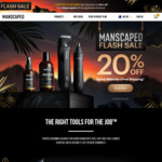 20% off Flash Sale @ Manscaped (The Peak Performance Package 4.0 $143.99 Delivered)
