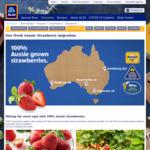 [VIC] Strawberry 250g Punnet $0.99 @ ALDI / Coles