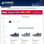 40.5% off Select Hoka One One Shoes + Shipping (Free over $150) @ Running Warehouse