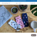 15% off Storewide + $3 Delivery ($0 with $35 Spend) @ Foadacy