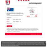 Complete Survey, Spend over $19.95 in Next Visit to Receive Large Chips and 1.25l Soft Drink @ KFC