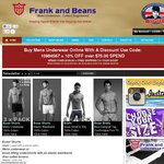 3 Pairs for Free with Any 6 Pack of Underwear at The Frank and Beans Underwear Site