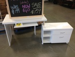 Computer Desk with Drawers. Masters North Lakes QLD. $40 Save $159