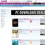 $29.62 Tomb Raider & $7.41 Doom 3: BFG, $4.81 RAGE PC Seam