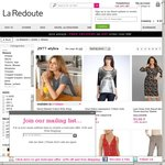 45% off on La Redoute.com (FRENCH FASHION ONLINE) + Free Delivery