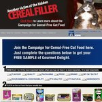 Get Six Cans of Gourmet Delight Cat Food for FREE!