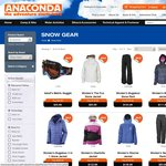 30-40% Off Snow Clothing, Footwear & Accessories