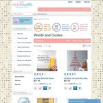 Words-Quotes Wall Decal 25% OFF + Free Shipping (no min spend) + Further 10% OFF If Order Any 2