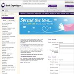 Book Depository 10% off + Free Shipping