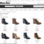 Up to 80% off BOOTS Sale @ Shoebox!