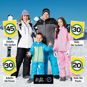 21ba6f715 Ski Gear on Sale   Woolworths - Instore Only