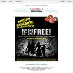 Krispy Kreme Australia: Halloween Treats: Buy One Get One Free on All Products 31st Oct 4pm-8pm