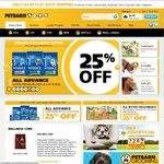 Advance 15kg Dog Food $73.71 Delivered - 20% off Sitewide @ Petbarn to Syd Mel Bris Per Ade Can