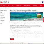 Qantas Flight Rewards 15% off