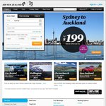 Sydney/Melbourne/Brisbane to Auckland $149 with Air New Zealand