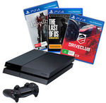 PlayStation 4 Console + 3 Games (DriveClub, TLOUR, Bloodborne) - $479 @ Target eBay Store