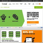 GoDaddy - $0.99.com Domain Name Registration