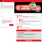 Rheem Water Heater Cash Back Either $75 or $100 (Model Dependent) - Licenced Plumbers Only