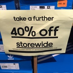 40% Further off at Adidas factory Outlets