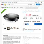 Philips Slim Robot Vacuum Cleaner $159 Delivered or Pickup @ KG Electronics eBay