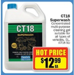 CT18 Superwash (Truck Wash) 5L for $12.99, Meguiar's Soft Wash Gel $12.99 @ Repco