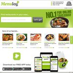 15% off Menulog Orders (Delivery Only)