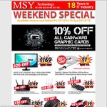 10% off All Gainward Graphic Cards @ MSY