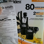 Uniden UH720SX- 2NB UHF 2pk for $59.80 in Store @ Dick Smith