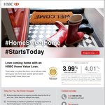 HSBC Home Value Loan 3.99% (4.01% CR) Owner Occupier Only