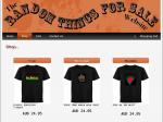 Random Things for Sale - EL T-Shirt $13.45 and Panels $12.45 Delivered