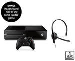 Xbox One 500GB Bundle (Refurbished) + Rise of the Tomb Raider - $279 @ ALDI