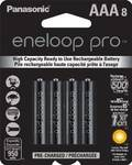 Eneloop Pro 950 mAh AAA 8 Pack [MADE IN JAPAN] $37.85 ($28.15 USD) Delivered @ Amazon