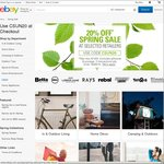 20% off 85 Selected Retailers (Dell, Sony, PC Byte, Mighty Ape, Jeanswest, Supercheap Auto, Shopping Square + More) @ eBay