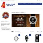 $99, $109, $129 Authentic Pierre Cardin Stock Clearance with Free Shipping at Shopping Palace
