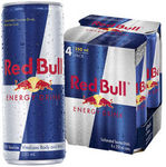Red Bull 250ml 4 Pack $5 @ Coles