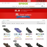 Crocs 50% off Singles Day Deal (Selected Few)