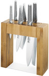 Global Ikasu 7pc Knife Block Set $299 @ Kitchen Warehouse
