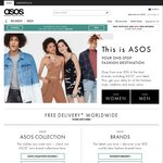 ASOS 20% off Full Priced Items