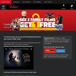 Watch 2 out of 5 Family Movies to Get Free Ticket for April/May [Cinebuzz Membership Required] @ Event Cinemas