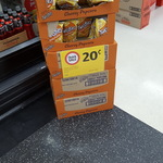 $0.20 Cheesy Popcorn Twisties at Newmarket Coles QLD (Short Dated)