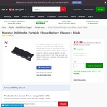 Monster 26,000 mAh Power Bank $36.77 Delivered @ MyMemory.co.uk