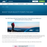 ANZ Rewards: Earn 50% Points Bonus on Velocity Transfers during May